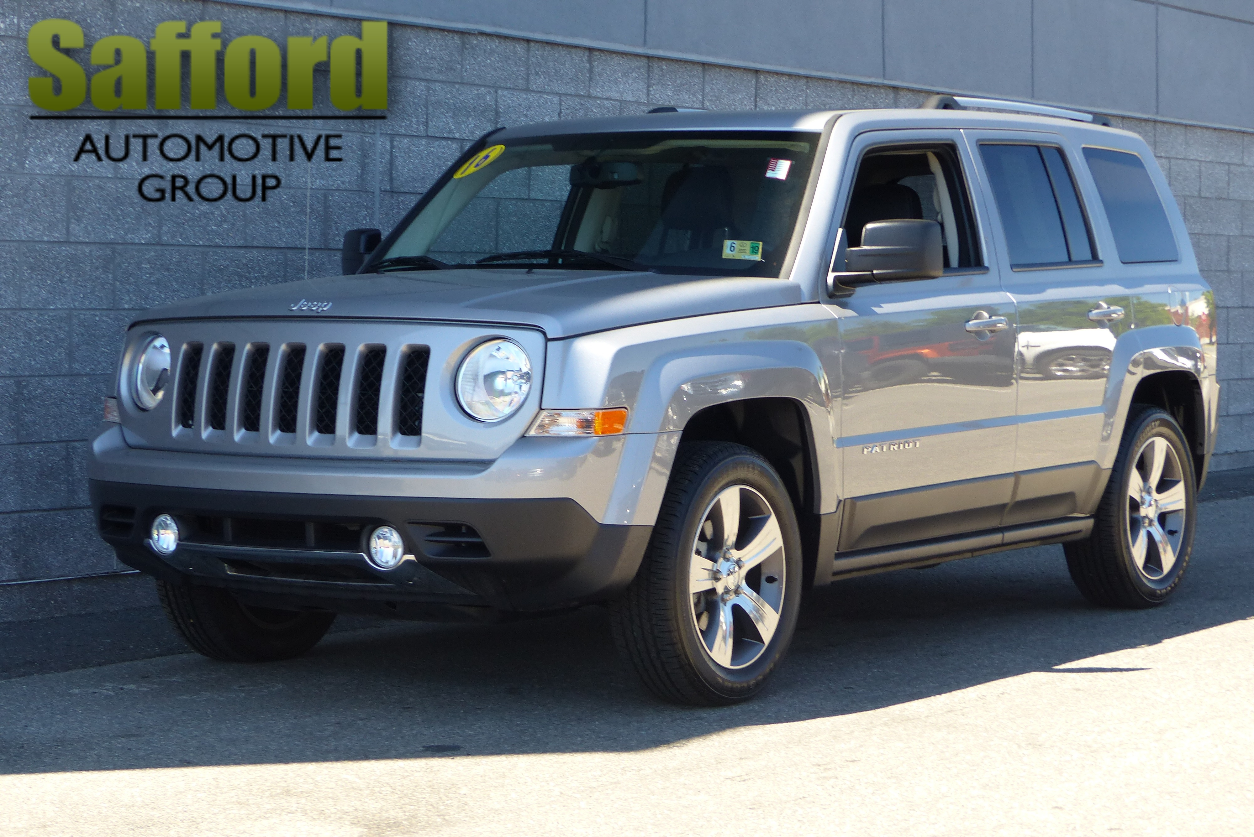 Certified Pre Owned 2016 Jeep Patriot Latitude Sport Utility in