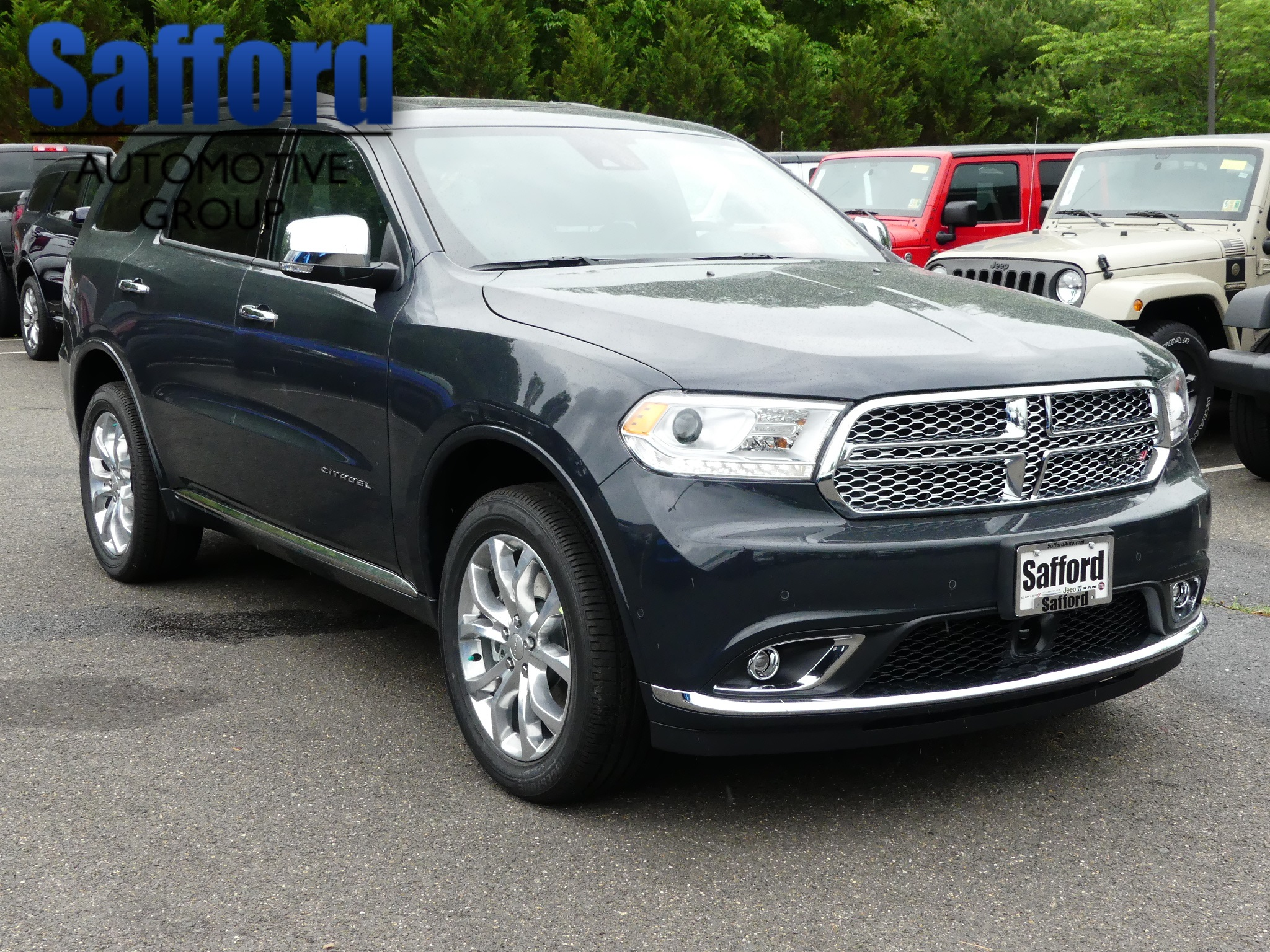 New 2018 DODGE Durango Citadel Sport Utility in Warrenton JC