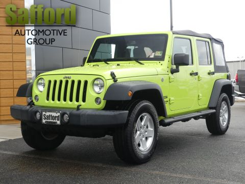 Certified Pre-Owned 2016 Jeep Wrangler Unlimited Unlimited Sport
